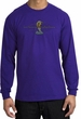 Ford Mustang Cobra Long Sleeve Shirt - Ford Motor Grill Purple T-Shirt