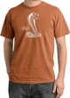 Ford Mustang Cobra Pigment Dyed T-Shirt - Adult Burnt Orange Tee