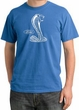 Ford Mustang Cobra Pigment Dyed T-Shirt - Adult Medium Blue Tee
