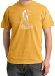 Ford Mustang Cobra Pigment Dyed T-Shirt - Adult Mustard Tee
