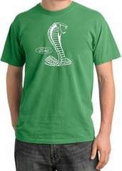 Ford Mustang Cobra Pigment Dyed T-Shirt - Adult Piper Green Tee