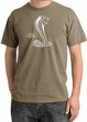 Ford Mustang Cobra Pigment Dyed T-Shirt - Adult Sandstone Tee