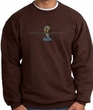 Ford Mustang Cobra Sweatshirt - Ford Motor Company Grill Adult Brown