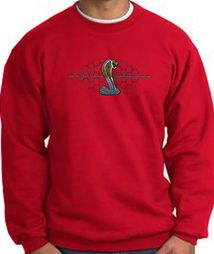 Ford Mustang Cobra Sweatshirts - Ford Motor Company Grill Sweat Shirts