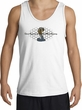 Ford Mustang Cobra Tank Top - Ford Motor Company Grill White Tanktop