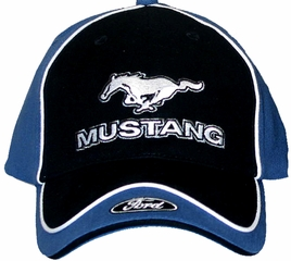 Ford Mustang Hat with Ford Logo - Embroidered Cap