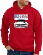 Ford Mustang Hoodie USA 1964 Country Hoody