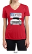 Ford Mustang Ladies Shirt USA 1964 Country Moisture Wicking V-neck