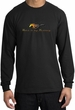 Ford Mustang Long Sleeve Shirt - Make It My Grill Adult Black T-Shirt