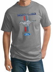 Ford Mustang Mens Shirt Mustang Stripe Tall Tee T-Shirt