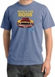 Ford Mustang Pigment Dyed T-Shirt - Who's The Boss 302 Night Blue Tee