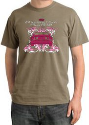 Ford Mustang Pigment Dyed T-Shirts - Girls Run Wild Adult Tee Shirts