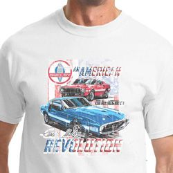 Ford Mustang Shirt American Revolution