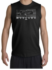 Ford Mustang Shirt Legend Honeycomb Grille Black Muscle Shirt