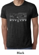 Ford Mustang Shirt Legend Honeycomb Grille Burnout Tee T-Shirt