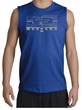 Ford Mustang Shirt Legend Honeycomb Grille Royal Muscle Shirt