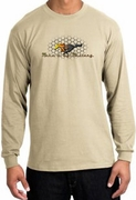 Ford Mustang Shirt Make It My Mustang Grill Long Sleeve T-Shirt