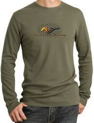 Ford Mustang Shirt Make It My Mustang Grill Thermal Shirt