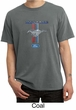 Ford Mustang Shirt Stripe Mens Pigment Dyed Tee T-Shirt