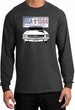 Ford Mustang Shirt USA 1964 Country Long Sleeve Tee Charcoal