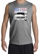 Ford Mustang Shirt USA 1964 Country Sport Grey Muscle Shirt