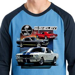Ford Mustang Shirt Various Shelby Mens Raglan Tee T-Shirt