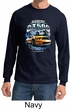 Ford Mustang Shirt Yellow and White GT 500 Long Sleeve Shirt