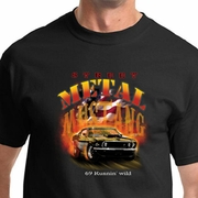 Ford Mustang Shirts 69 Runnin Wild
