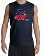 Ford Mustang Shooter Shirt - Chairman Of The Ford Navy Muscle Shirt