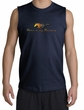 Ford Mustang Shooter Shirt - Make It My Grill Adult Navy Muscle Shirt