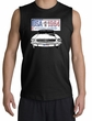 Ford Mustang Shooter Shirt - USA 1964 Country Adult Black Muscle Shirt