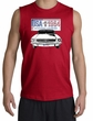 Ford Mustang Shooter Shirt - USA 1964 Country Adult Red Muscle Shirt