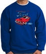 Ford Mustang Sweatshirt - Chairman Of The Ford Adult Royal Sweat Shirt