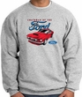 Ford Mustang Sweatshirt Chairman Of The Ford Heather Grey Sweat Shirt