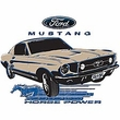 Ford Mustang Sweatshirt - Horsepower Adult Ash Sweat Shirt