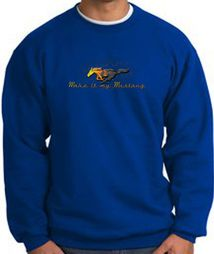 Ford Mustang Sweatshirts - Make It My Mustang Grill Adult Sweat Shirts