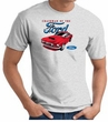 Ford Mustang T-Shirt - Chairman Of The Ford Adult Ash Tee