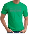 Ford Mustang T-Shirt - Legend Honeycomb Grille Adult Kelly Green Tee