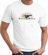 Ford Mustang T-shirt - Make It My Mustang Grill Adult White Tee Shirt