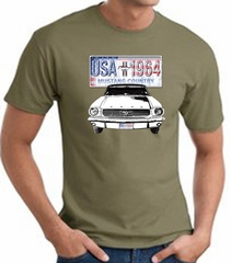 Ford Mustang T-Shirt - USA 1964 Country Adult Army Tee Shirt