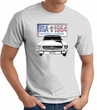 Ford Mustang T-Shirt - USA 1964 Country Adult Ash Tee Shirt
