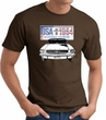 Ford Mustang T-Shirt - USA 1964 Country Adult Brown Tee Shirt