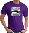 Ford Mustang T-Shirt - USA 1964 Country Adult Purple Tee Shirt