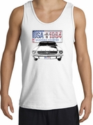 Ford Mustang Tank Tops - USA 1964 Country Adult Tanktops