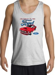 Ford Mustang Tanktops - Chairman Of The Ford Tank Tops
