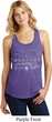 Ford Mustang with Grill Ladies Racerback Tank Top