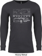 Ford Mustang with Grill Long Sleeve Thermal Shirt