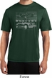 Ford Mustang with Grill Mens Moisture Wicking Shirt