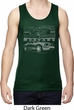 Ford Mustang with Grill Mens Moisture Wicking Tanktop