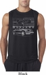 Ford Mustang with Grill Mens Sleeveless Shirt